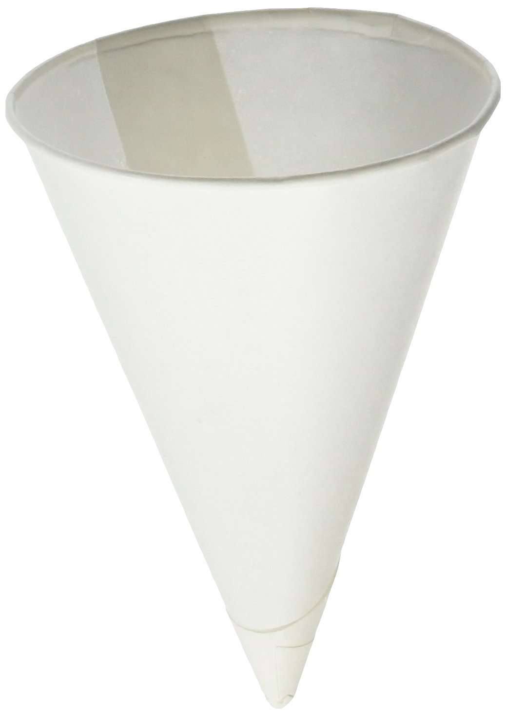 Igloo Cone Cups - cups 4.25 rolled rim contractor 1000 cups/sleeve