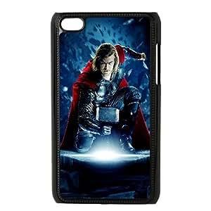 iPod Touch 4 phone case Black Thor The Dark World KKOU7924896