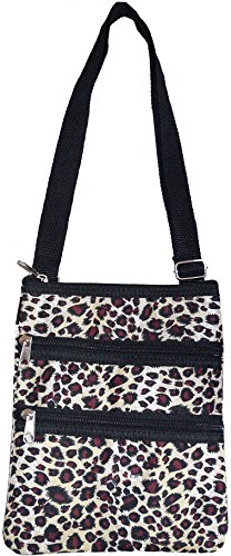 Leopard Women's Cross Fashion Hipster Print Bag Black body Small Pzz0xwqfR