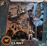 U.S. Navy Seals Playset with Tower, Helicopter, Watercraft and 2 figures