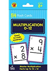 Brighter Child Flash Cards:Multipl.0-12