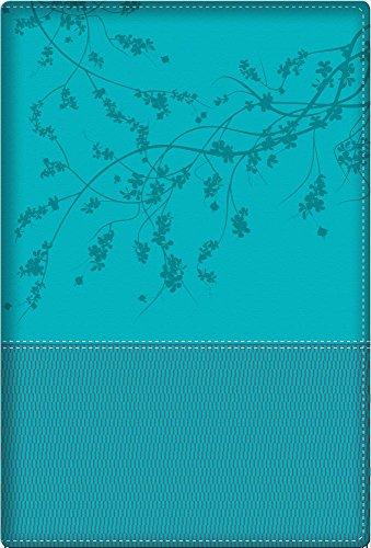 Biblia de la mujer conforme al corazón de Dios: Duotono Aqua (Spanish Edition) (Una Mujer Conforme Al Corazon De Dios)
