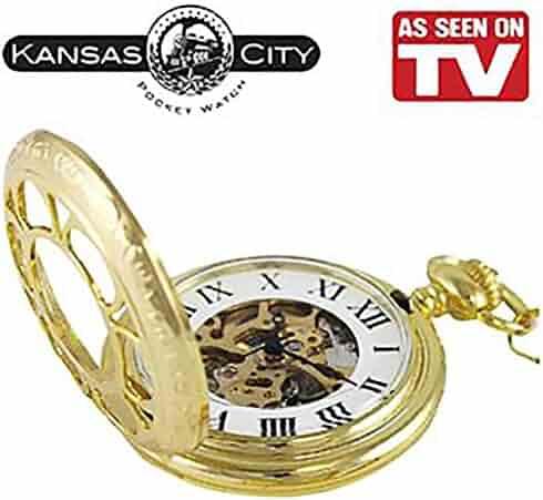 AS SEEN ON TV KANSAS CITY POCKET WATCH