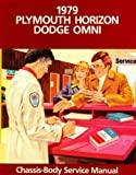 81-270-9003 Plymouth Horizon and Dodge Omni Chassis-Body Service Manual 1979 Used