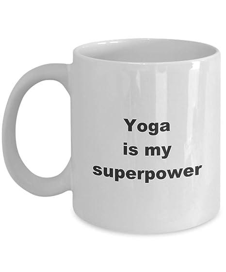 Amazon.com: Yoga Superpower Mug, Yoga Tea Cup: Kitchen & Dining