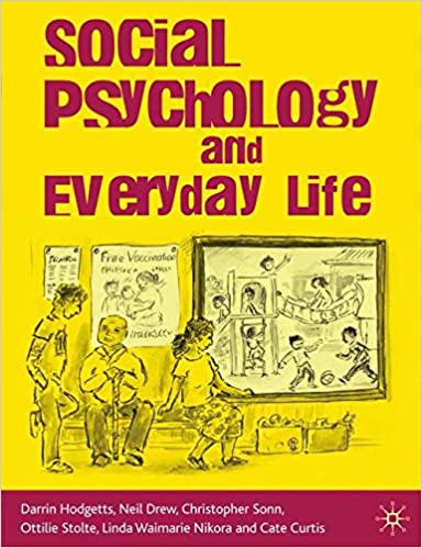 Book Social Psychology and Everyday Life