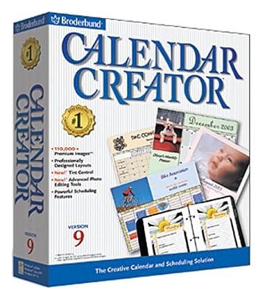 Amazon.com: Calendar Creator 9