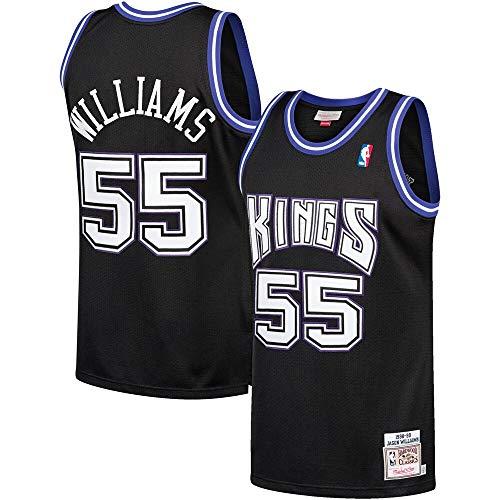 Mitchell & Ness Sacramento Kings Jason Williams #55 1998-99 Hardwood Classics Black Jersey