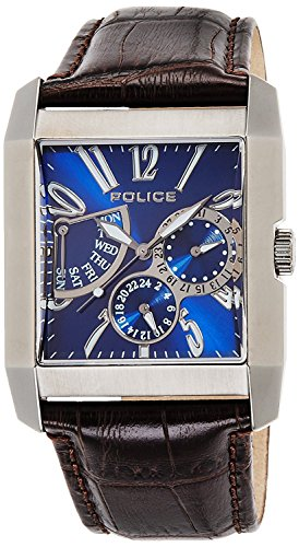 POLICE watch Kings Avenue Retrograde 5 ATM water resistant 13789MSU-03 men's [regular imported goods]