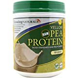 Growing Naturals Pea Protein Powder Natrl 16 Oz