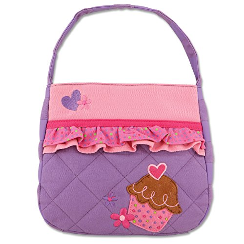 (Stephen Joseph Little Girls'  Quilted Purse, Cupcake, One Size )