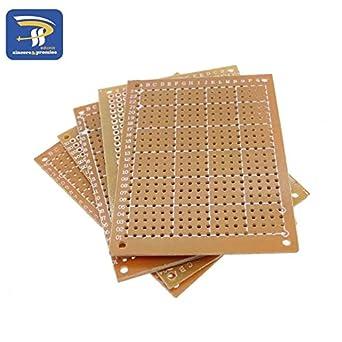 20Pcs 5 x 7 cm DIY Prototype Paper PCB Universal Board New