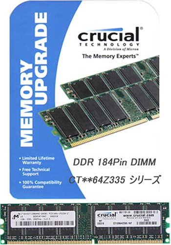 256MB 400MHz Non-ECC DDR
