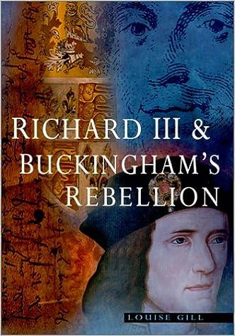 Book Richard III and Buckingham's Rebellion