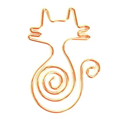 TRIXES - Pack de 10 piezas de clips para gatos, papel ...