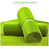 MTBRO Artificial Grass Rug, Realistic Artificial Turf for Patio and Yard, Perfect Outdoor Fake Grass for Dogs, Blade Height 1.5