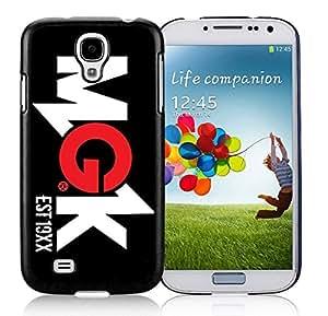 New Unique DIY Antiskid Skin Case For Samsung S4 Machine Gun Kelly (MGK) Samsung Galaxy S4 Black Phone Case 259