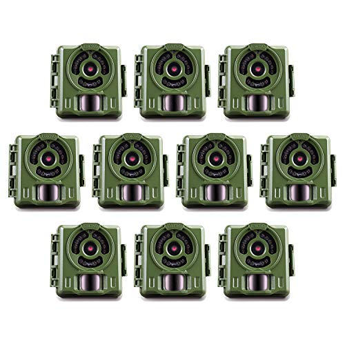 Primos Hunting Bullet Proof 2 8MP Low Glo HD Scouting Game Trail Camera, 10 Pack For Sale