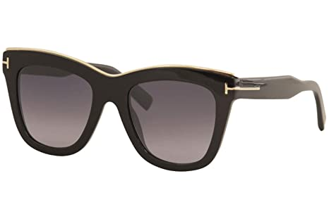 Tom Ford Gafas de Sol Julie FT 0685 Black/Grey Shaded Mujer ...