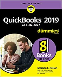 Image of the product QuickBooks 2019 All in that is listed on the catalogue brand of For Dummies.