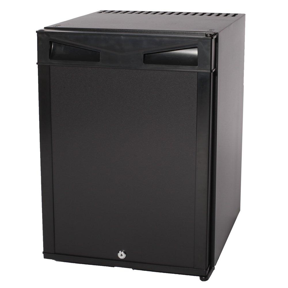 Smad 110V 12V Portable Absorption Refrigerator Compact Mini Fridge Single Door,1.4 cu ft