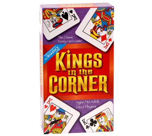 Kings in the Corner w/FREE extra deck of playing cards by Brybelly (Kings In The Corner Game)