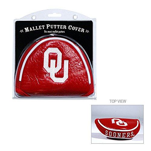 シーサイド変換羽Oklahoma Sooners Malletパターカバーチームゴルフから