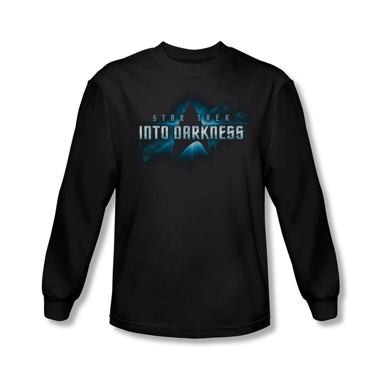 Star Trek - Mens Into Darkness Logo Longsleeve T-Shirt