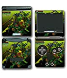 Teenage Mutant Ninja Turtles TMNT Mike Leo Don Raph Video Game Vinyl Decal Skin Sticker Cover for Nintendo GBA SP Gameboy Advance System