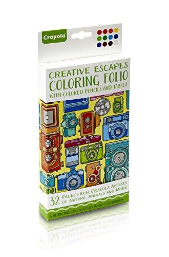 Crayola Creative Escapes Coloring Pencils product image