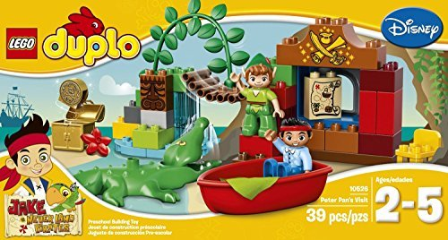 LEGO DUPLO (39pcs) Jake Peter Pan's Visit Figures Building Toys (Peter Pan Boat compare prices)
