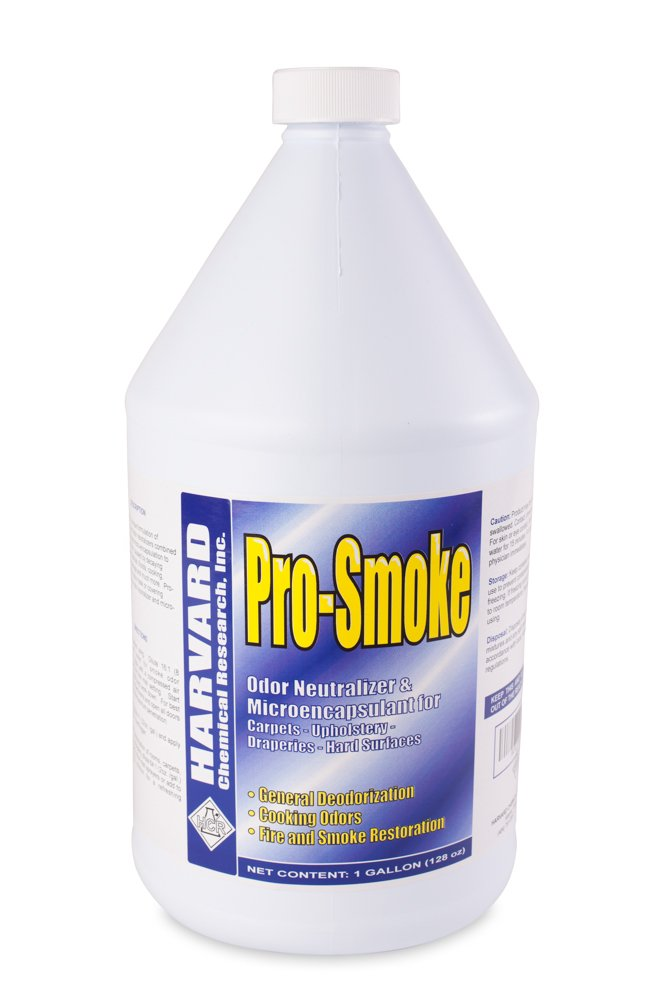 Harvard Chemical 722 Pro-Smoke Malodor Encapsulant and Odor Neutralizer, 1 Gallon Bottle (Case of 4) by Harvard Chemical Research