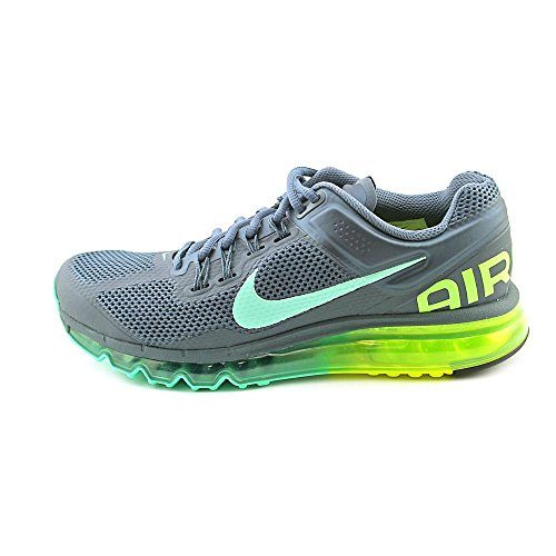 Nike Womens Wmns Air Max 2013, Armory Slate / Green Glow-volt Grey