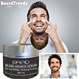 MR. BOND Beard Growth Serum | Facial Hair Herbal Thickening Formula | Mens Hair Growth Natural Minerals and Vitamins | Rapid