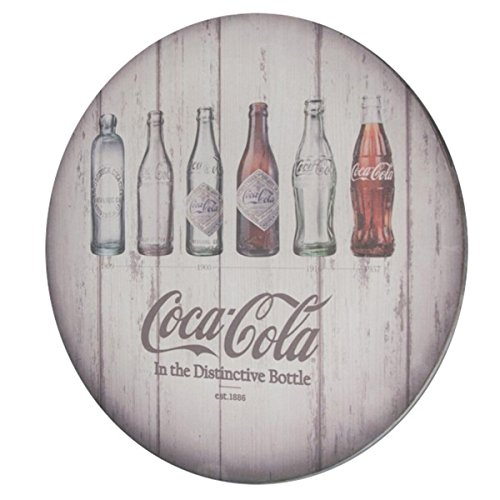 Coca-Cola Contour Bottle Evolution Key Box Wood Wall Decor 11.42