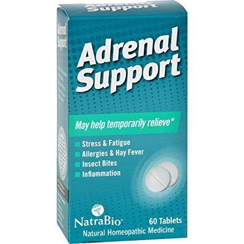 Natra Bio Adrenal Support 60 Tab by Natra-Bio