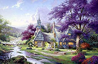 product image for Thomas Kinkade - Clocktower Cottage Puzzle - 1000 Pieces