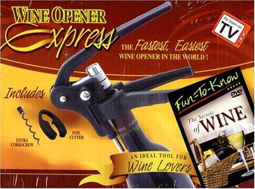 (Corkscrew plus Secrets of Wine DVD)