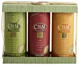 Serenity Chai Tea Latte Gift Box, 12-Ounce Canisters (Pack of 3)