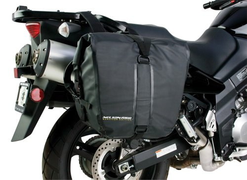 Nelson-Rigg SE-2050-BLK Black Adventure Dry Saddlebag 2 - Pipe Oregon Trail