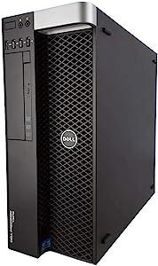 Dell T3610 AutoCAD Workstation E5-1620v2 4 Cores 8 Threads 3.7Ghz 128GB 500GB SSD 2TB Quadro K600 Win 10 Pro (Renewed)