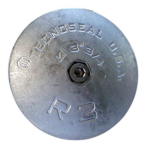 Tecnoseal R3MG Rudder Anode - Magnesium - 3-3/4