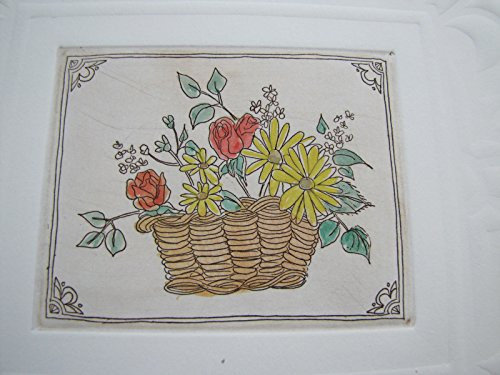 - Flower Basket By Jennifer Berringer Artist Proof Rare