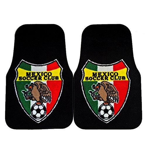 Mexico Soccer Club Non-Skid Carpet Car Mat by SUPERMAXX