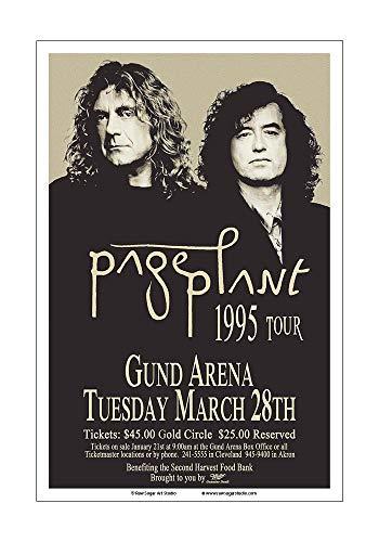 Raw Sugar Art Studio Jimmy Page/Robert Plant/Led Zeppelin 1995 Cleveland Concert ()