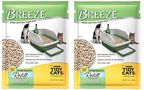 Tidy Cats Breeze Pellets - 7 lbs XL Bag (2-Pack)
