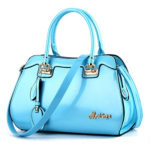 à Sac Blue Main Sac Grand Main Sac à Pour Main HMWHJP Blue Sac à à Femme Bright Bandoulière Fashion 6q7SwnOTx