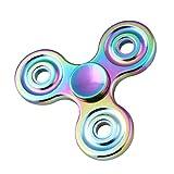 #8: Beautymei Alloy Hand Spinner Fidget Toys Anxiety Reducer Rainbow