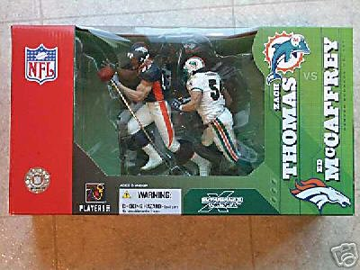 Sports Picks Football Zach Thomas & Ed Mccaffrey 2 for sale  Delivered anywhere in USA