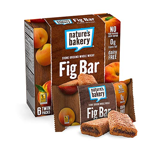 (Nature's Bakery Whole Wheat Fig Bars - Peach Apricot - 6 ct)